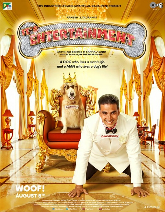 Movie poster of the entertainer