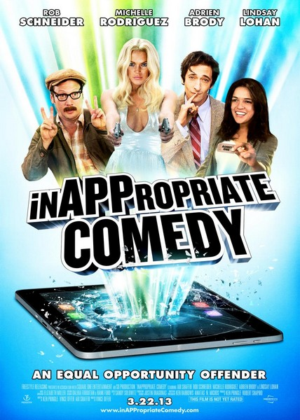 Непристойная комедия / InAPPropriate Comedy (2013) онлайн