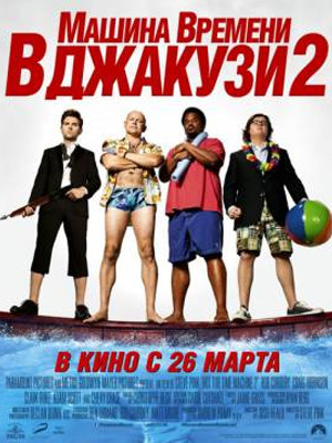 Машина времени в джакузи 2 / Hot Tub Time Machine 2 (2015) Онлайн