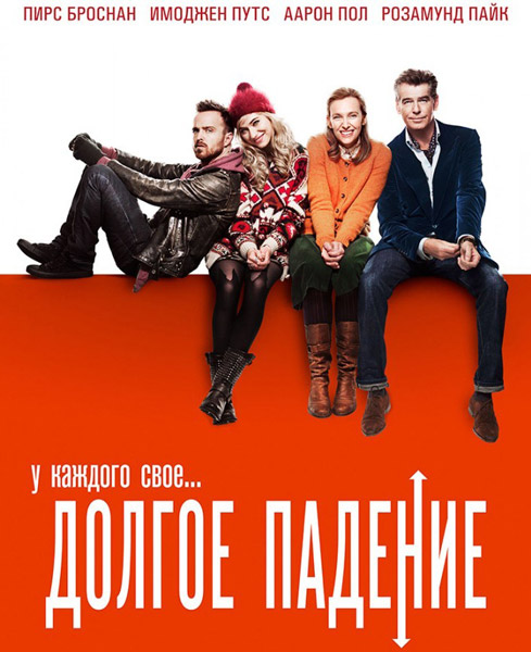 Долгое падение / A Long Way Down (2014) онлайн