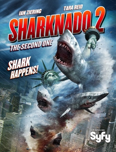 Акулий торнадо 2 / Sharknado 2: The Second One (2014) онлайн