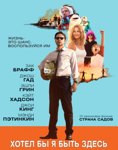 Хотел бы я быть здесь / Wish I Was Here (2014) онлайн